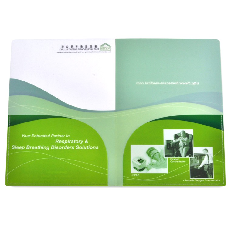 Twin Pocket PP Folder